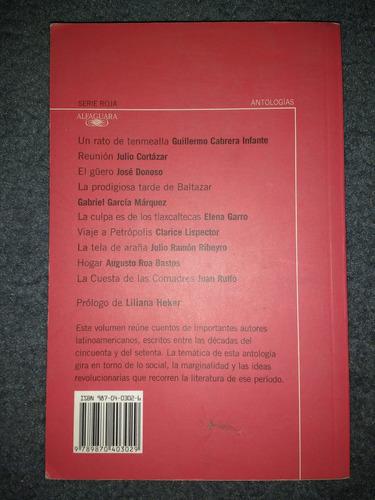 tierra marcada-antología de cuentos latinoam-ed. alfaguara