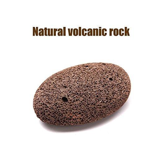 tierra natural lava piedra pómez para quitar la piel muerta