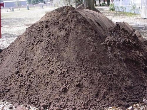tierra negra fina - tierra fértil 100% trabajada