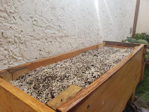 tierra preparada plantas con envío 9 litros humus, diatomeas