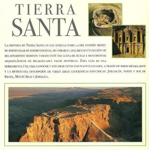 tierra santa. guía de arqueología. viajes