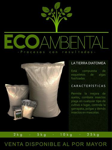 tierras de diatomeas (diatomita molida) p - g a $14
