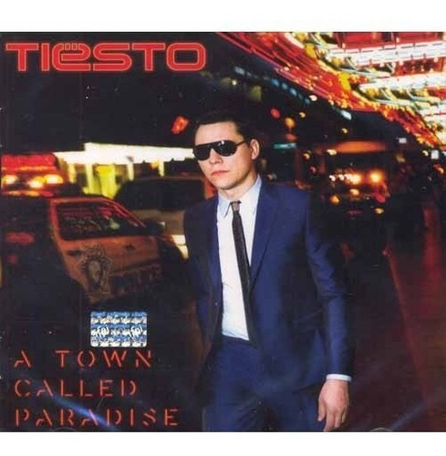 tiesto  a town called paradise cd con 14 canciones