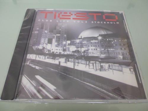 tiesto / club life vol 3 stockholm / cd / original / sellado