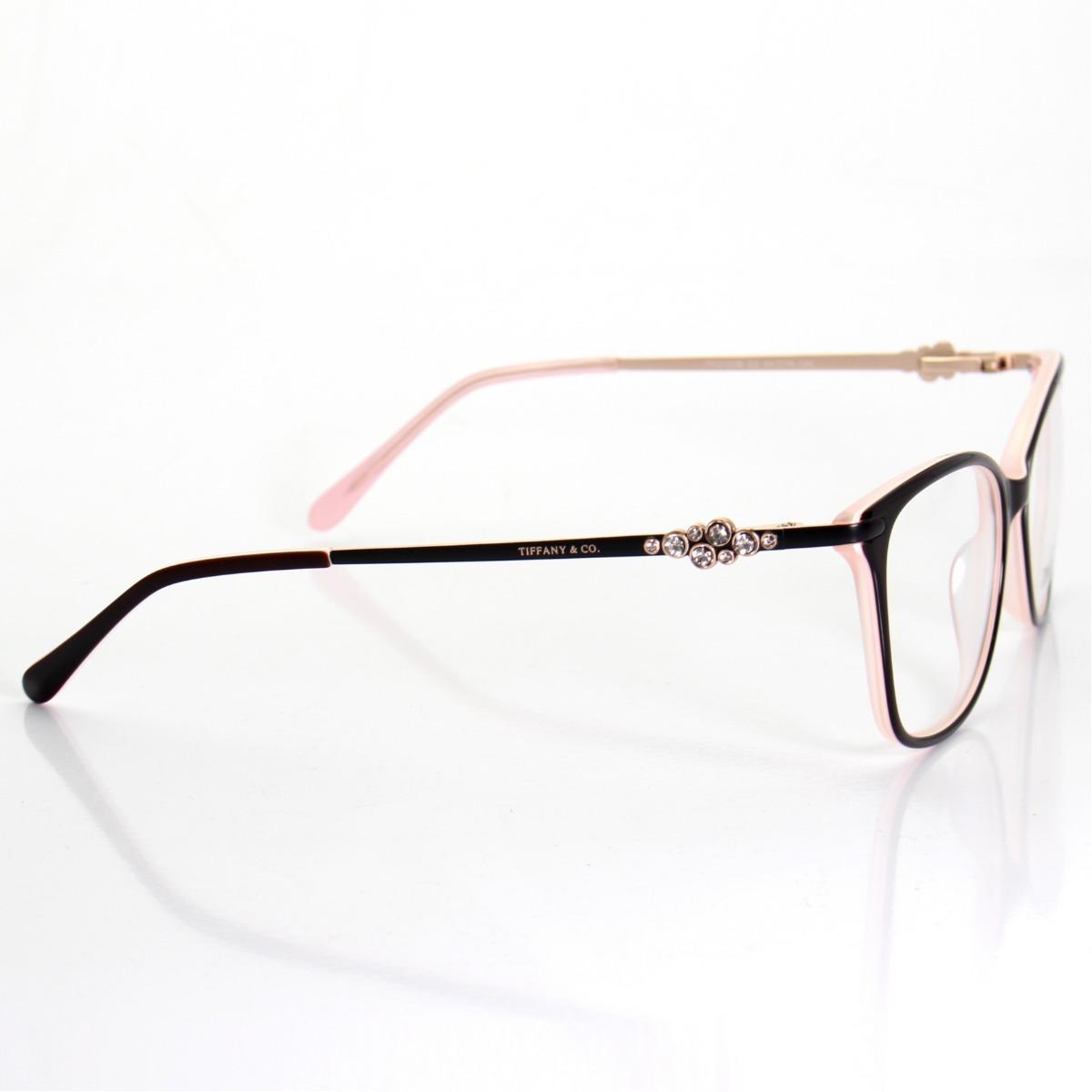 2a33a562c0a7a Armação De Grau - Tiffany   Co. Acetato - Tf2133 B Oculos - R  139 ...