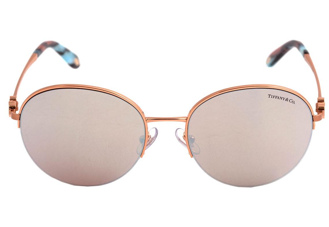 6efb72dd3b995 Tiffany   Co. Tf 3053 - Óculos De Sol 6109 64 Rosê Brilho  - R ...
