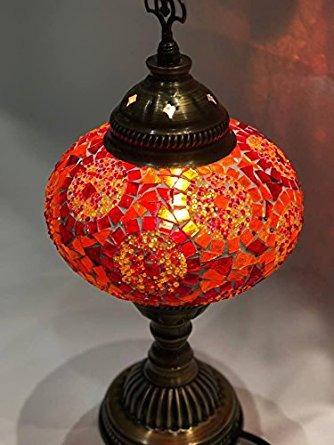 Tiffany style lamp turkish handmade mosaic table lamp oran tiffany style lamp turkish handmade mosaic table lamp oran 203800 en mercado libre aloadofball Gallery