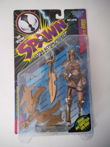 tiffany the amazon spawn mcfarlane toys