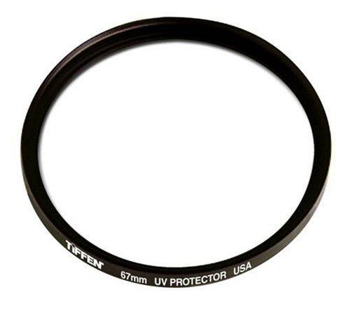 tiffen filtro protector uv 67mm para nikon, canon, sony etc.