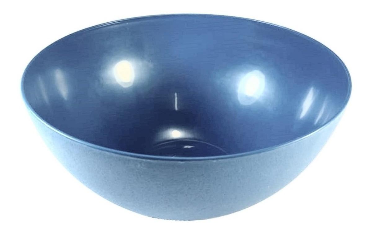 c5da57dd94 Tigela Bowl Cumbuca 700 Ml Plástico Pote Várias Cores Kit 20 - R$ 55 ...