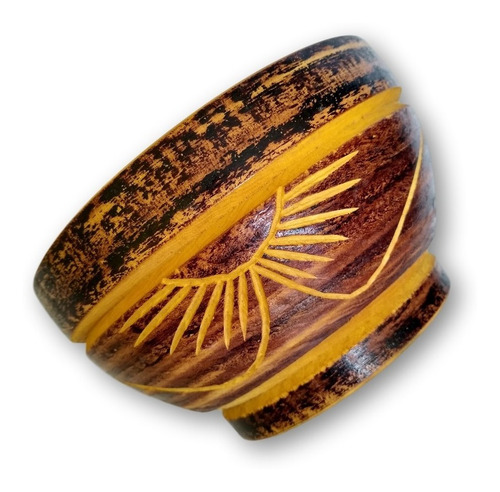 tigela/ cumbuca artesanal de madeira ref. 0013