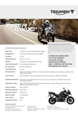tiger 1200 xcx