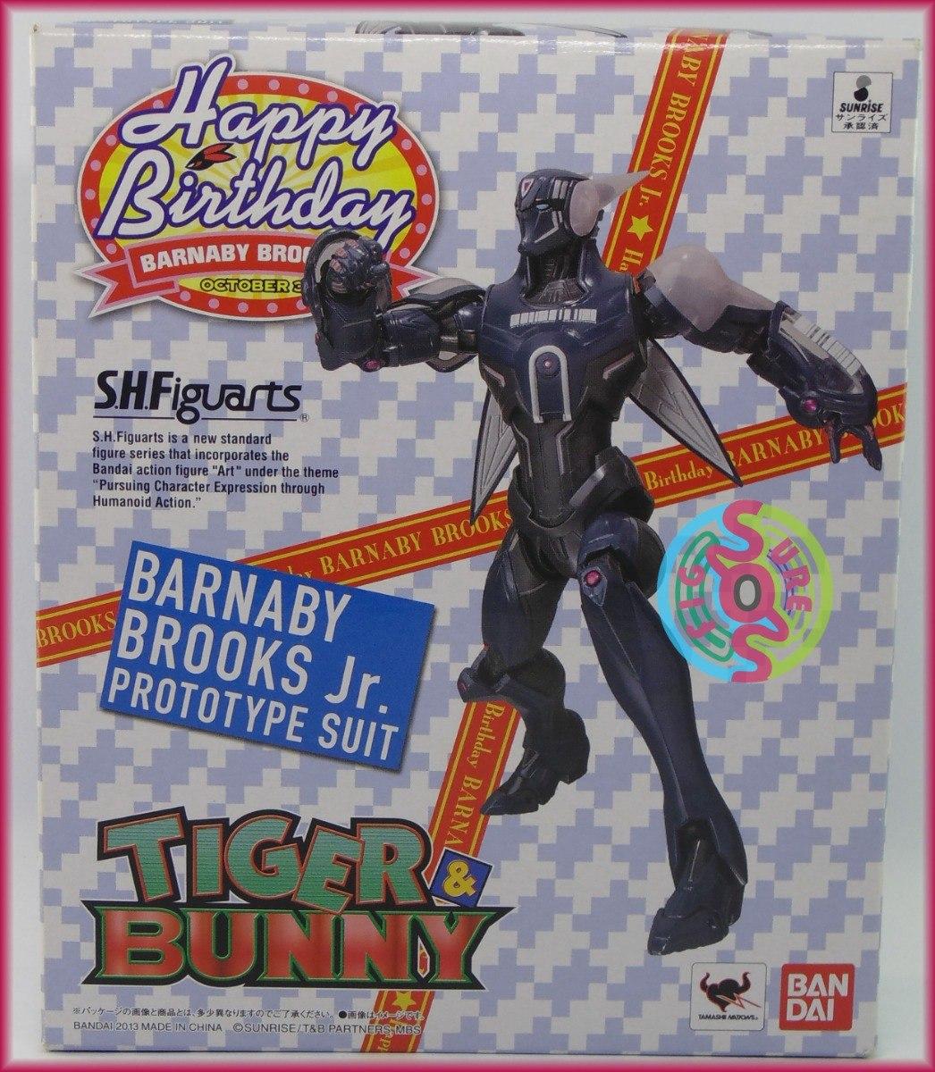 S.H Figuarts Tiger /& Bunny Barnaby Brooks Jr Bandai SH Action Figure