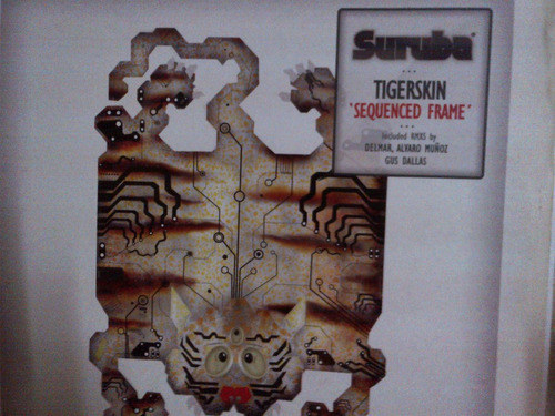 tigerskin - squenced frame vinyl musica electronica
