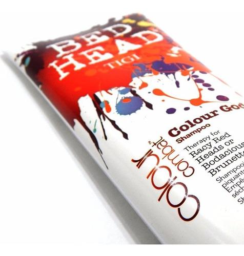 tigi bed head colour goddess x250 shampoo teñidos rayos uv
