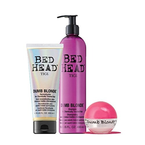 tigi bed head dumb blonde pick me up gift set