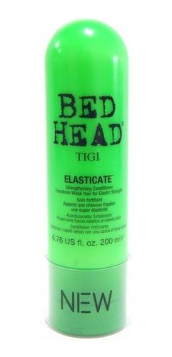 tigi bed head elasticate x 200ml acondicionador fortalecedor