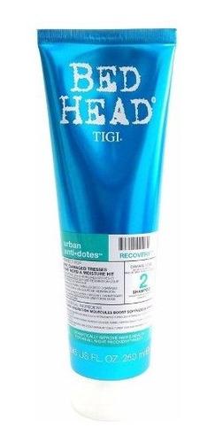 tigi bed head recovery shampoo fortalecedor pelo dañado x250