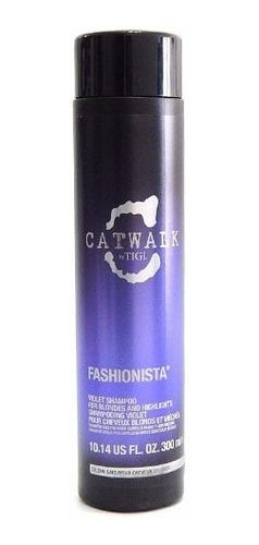 tigi catwalk fashionista shampoo pelo rubio y mechas 300 ml