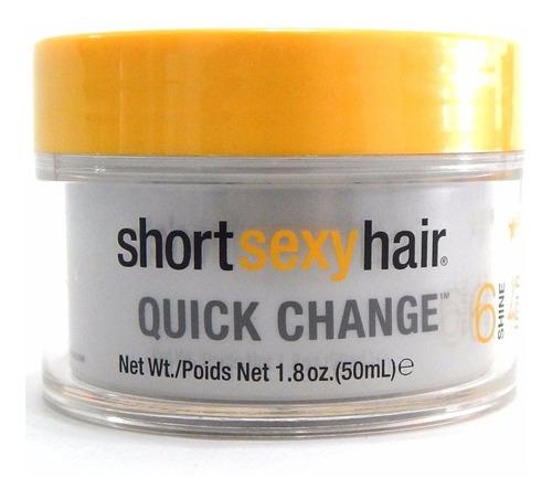 tigi sexy hair quick change cera cabello p/ modelar telaraña