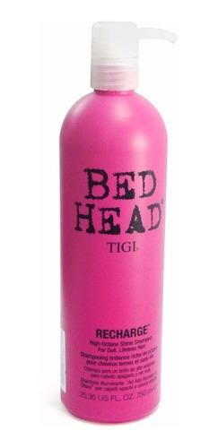 tigi shampoo bed head recharge x750 anti edad brillo cabello
