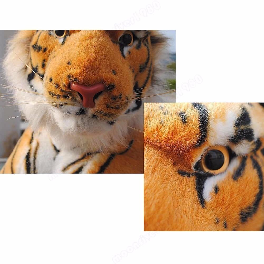 Tigre De Bengala Naranja De 30 Cms En Mercado