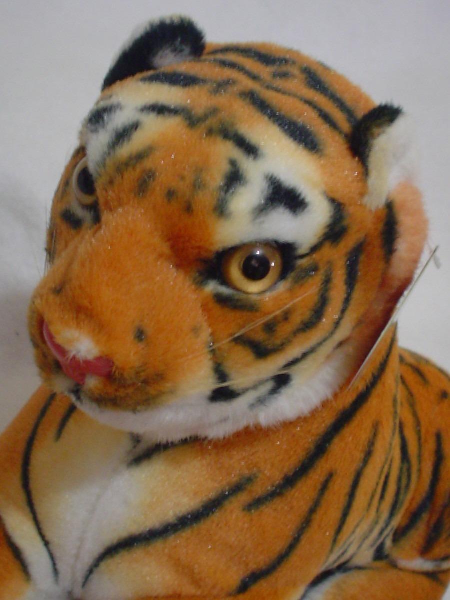 Tigre De Bengala Naranja De 60cms De Largo En