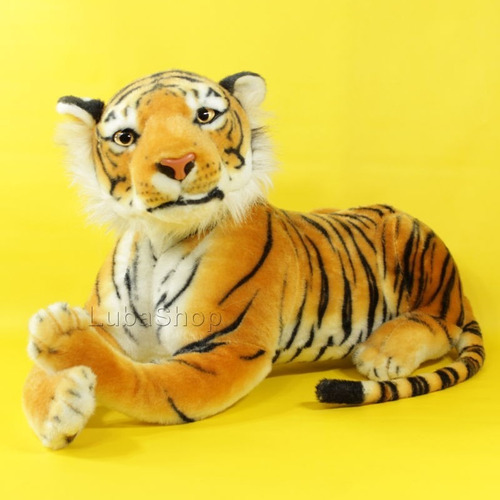 tigre de pelúcia 63 cm