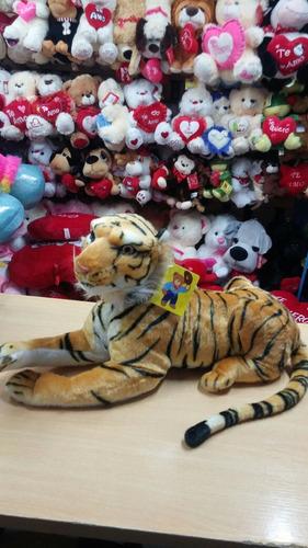 tigre león peluche