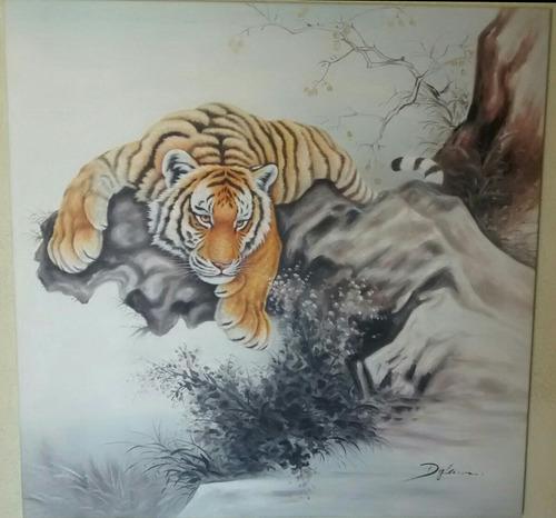 Tigre Pintura Al Leo 4 En Mercado Libre