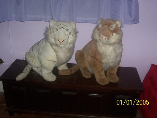 tigres de pelúcia 56 cm de altura preço por unidade anos 90