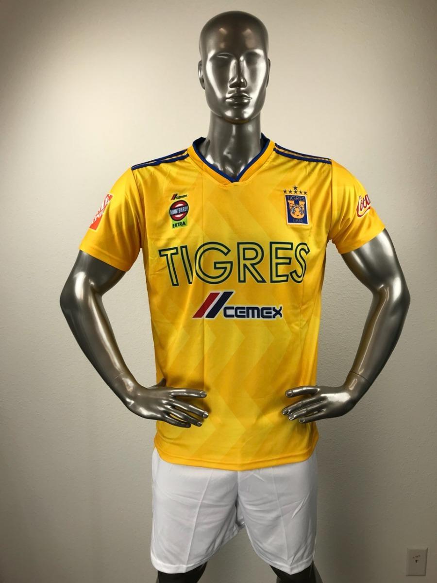 c3f49d99c0ad9 Tigres local uniforme futbol jersey playera personalizada cargando zoom jpg  900x1200 Playeras uniformes monterrey futbol tigres