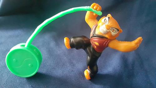 tigresa de kung fu panda juguete mc donald niños y niñas