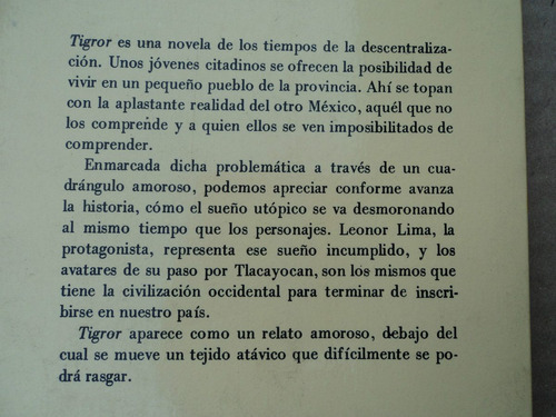 tigror - manuel olivar