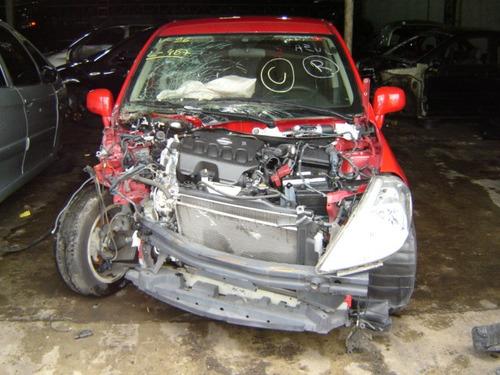 tiida 1.8 16v sucata motor,porta ,rodas,acabamento no geral