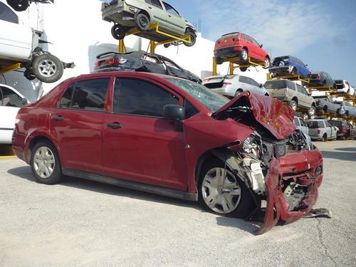 tiida 2012,accidentado yonkes