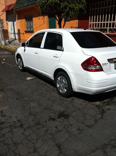 tiida blanco 2012  - nissan