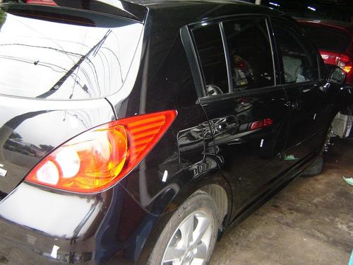 tiida1.8 aut  sucata motor cambio aut portas painel rodas
