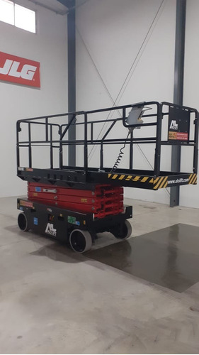 tijera autopropulsada - plataforma para trabajo en altura