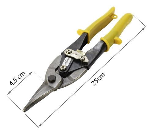 tijera aviador recta corta chapa aluminio cobre corte recto