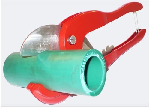 tijera corta tubos 42mm p/cortar caños aquasystem ind. arg