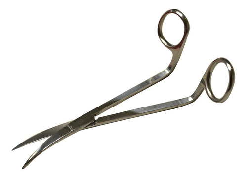 tijera de costura doble curva para aplicaciones de 6.25 pulg
