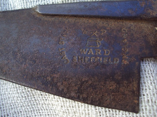 tijera de esquilar antigua,,inglesa,, sellada