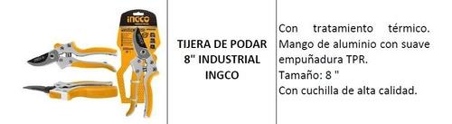 tijera de podar 8  industrial ingco