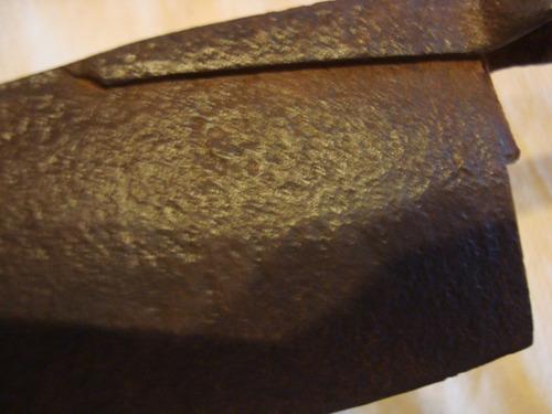 tijera de tuzar inglesa antigua c/marca ilegible 35 cm larga