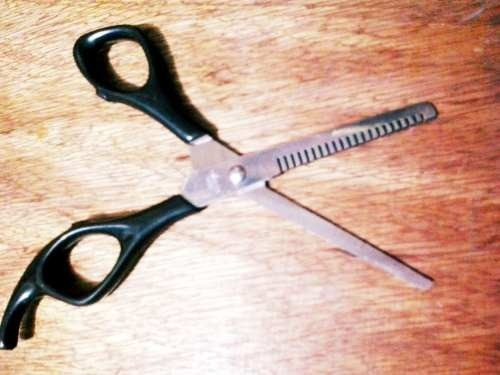 tijera para grafilado peluqueria