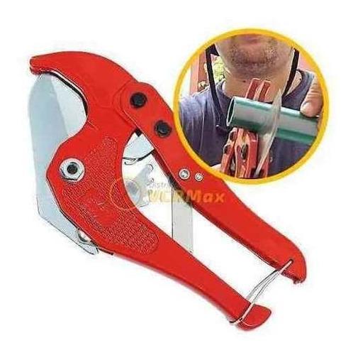 tijera pinza corta caño/tubo pvc hasta 42mm termofusion