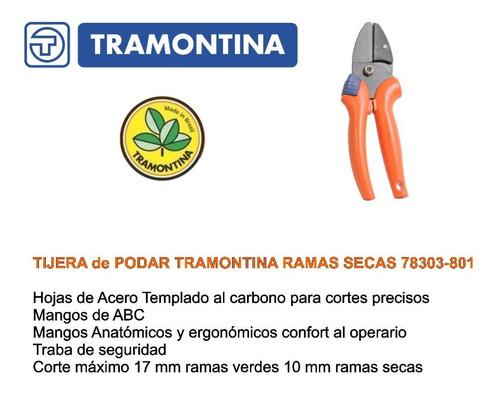tijera podar ramas secas tramontina 78303/801 y t34 toolmen