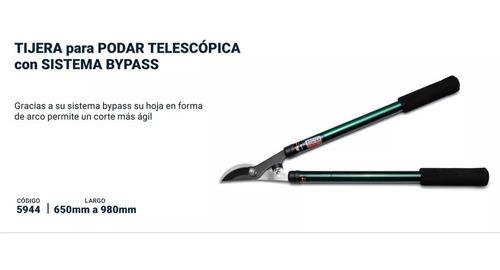 tijera podar telescopica bremen® sistema bypass 65 a 98 cm