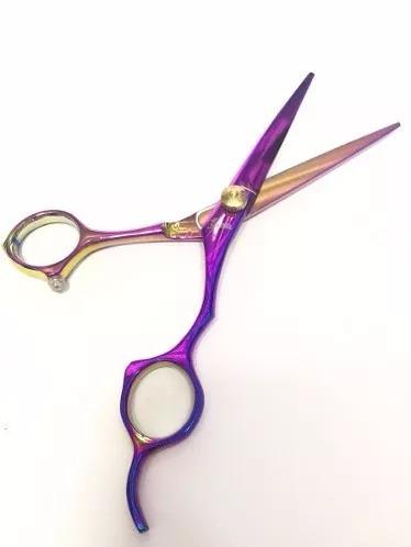 tijeras peluqueria profesional deslizante titanio marca euro